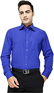 FOCIL Blue Formal Shirt For Men's(36)