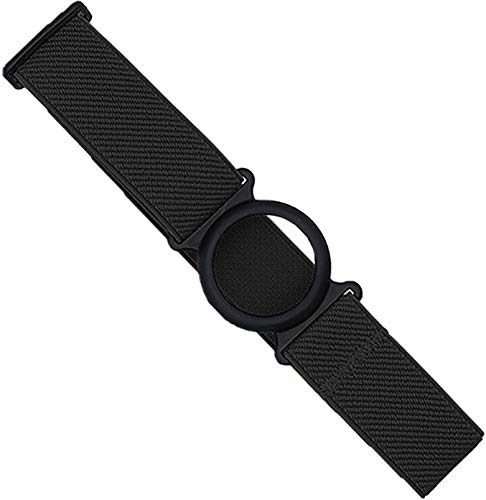 Diasticker® | Freestyle Libre - Fascia da braccio per sensore/Protezione sensori | Flessibile | Fascia protettiva per sensori Freestyle Libre | Anello: Nero (Medium: 25-35 cm, Nero)