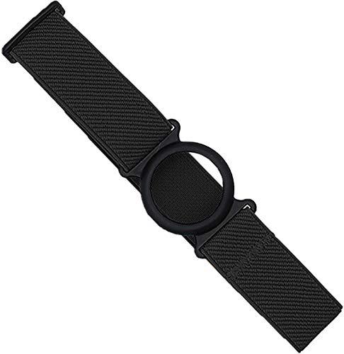 Freestyle Libre Fixierband – Ring: Schwarz (Flexibel/Sensitiv) | Diasticker® (Small: 18-25 cm, Schwarz)