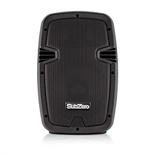 "SubZero 8"" Active PA Speaker with Digital Media Player & Bluetooth"