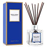 Binca Vidou Reed Diffuser Set, Fragrance Notes of Bergamot, Vanilla, Lavender and Jasmine Reed Oil Diffusers...