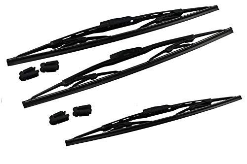 Set-Wischerblätter Scheibenwischer Niva vorn und hinten 380mm