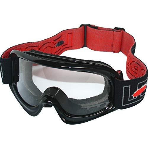 Leopard niños Gafas de Motocross Bicicleta Moto ATV Patio Gafas de Protección Negro