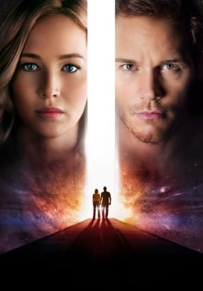 Passengers - Jennifer Lawrence - US Textless Imported Movie Wall Poster Print - 30CM X 43CM