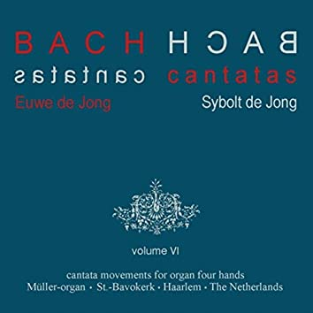 Bach Cantatas, Vol. 6: Cantata Movements for Organ Four Hands