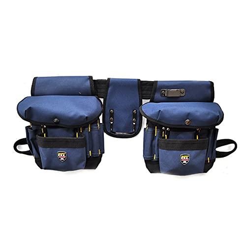 Bolsa de herramientas para electricista, herramientas multifunción portátiles de alta capacidad, bolsillo, cinturón, organizador, bolsa para la cintura, soporte de almacenamiento