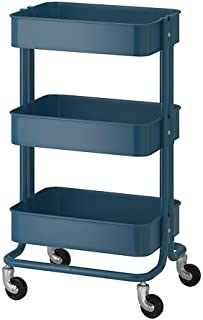 IKEA Raskog Utility Cart Dark Blue