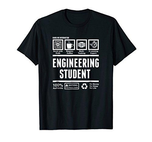 Funny Engineering Student Handling Information T-Shirt
