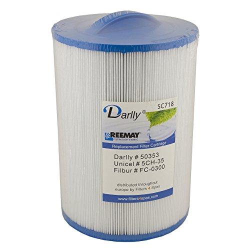 Darlly® Filter Ersatzfilter für Whirlpool Spa Artesian + Maax Spas SC718