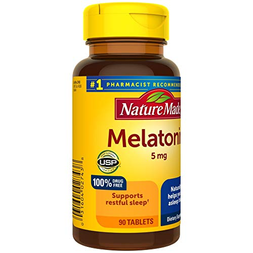 Nature Made Melatonin 5mg Tablets