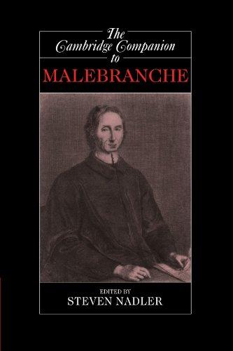 The Cambridge Companion to Malebranche (Cambridge Companions to Philosophy)