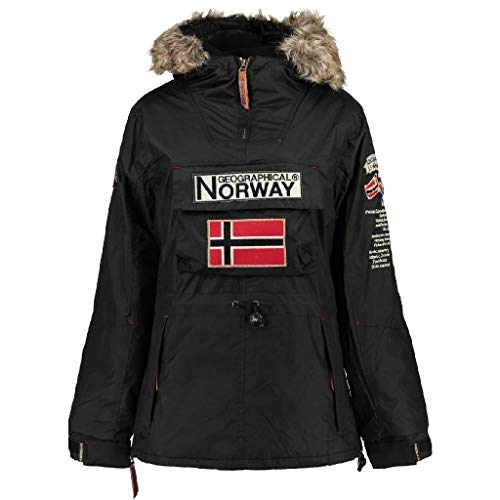 Geographical Norway Parka BOOMERA de Mujer Negro Talla L