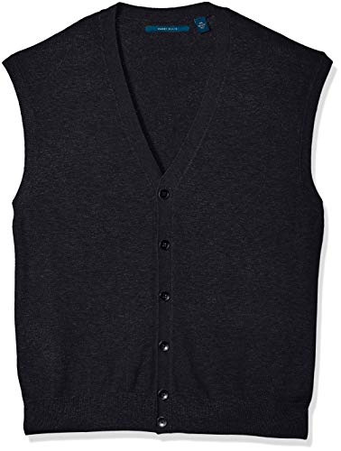 Button Up Sweater Vests for Men's