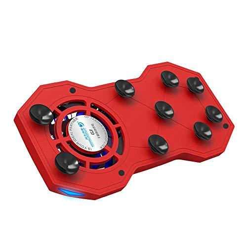Ganeep 3 en 1 sostenedor móvil Soporte 4-6 Pulgadas radiador teléfono móvil Anillos Titular 2000mA Soporte/Banco de la energía/teléfono Ventilador de refrigeración refrigerador del teléfono móvil