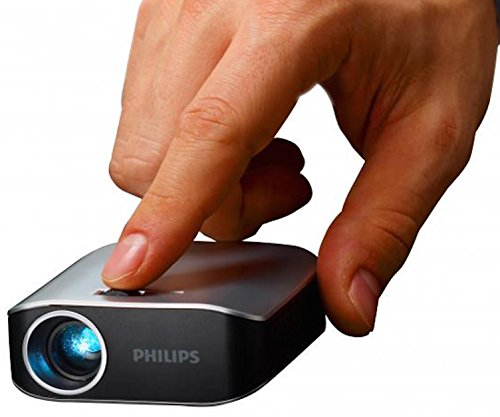 Philips PPX2055/F7 Video - Proyector (55 lúmenes ANSI, LED, WVGA (854x480), 1000:1, 304,8 - 3048 mm (12 - 120