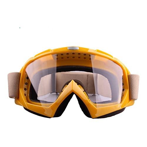 XJST Gafas De Esquí De Nieve para Adultos, Gafas De Nieve Unisex A Prueba De Viento 100% UV Protección, Ciclismo De Motocicleta Moto De Nieve Gafas De Esquí, Gafas De Esquí para Deportes,B