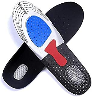 Sport Comfort Shoe Insoles, Breathable Sweat Deodorant Massage Shock Absorber Basketball Football Insole for Woman