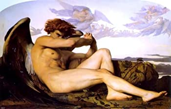 Art Oyster Alexandre Cabanel A Fallen Angel - 16  x 24  Premium Canvas Print