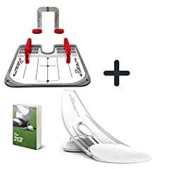 ✅ THE PRESSURE IS ON - The Perfect Pressure for the Perfect Putter! Improve your Eye Line and Master your Alignment and Stroke! ✅ POWER PACKAGE - The Puttout Putting Aids For Golf Package Is The Perfect Bundle For Any Golf Enthusiast! Setup The Best ...