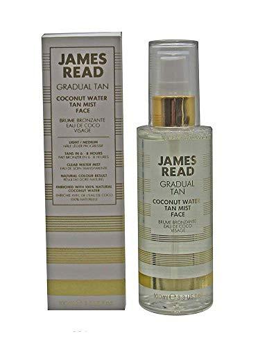 James Read Tan Coconut Water Tan Mist Face Light/Medium