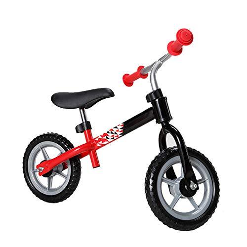 Bicicleta Sin Pedales Ultraligera - Niños 2-5 Años Rojo