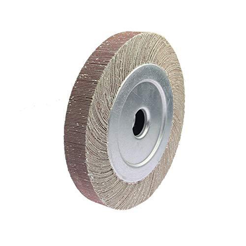 10'/ 12' miles de páginas Rueda de solapa abrasiva en la rueda de pulido de pulidos de brida para metal y madera Gaodpz (Grit : P240, Size : 300x50x32mm)