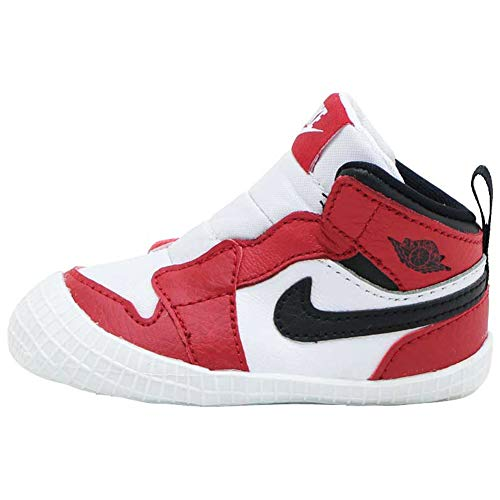 Nike AT3745-163, Zapatillas Deportivas Unisex niños, White/Black-Varsity Red, 16 EU