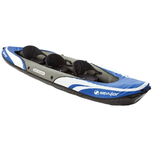 Sevylor Big Basin 3-Person Kayak , Blue