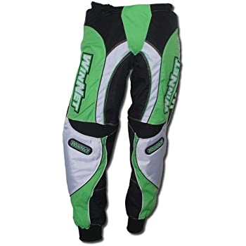 WinNet Pantaloni per moto da cross motocross blu M Taglia