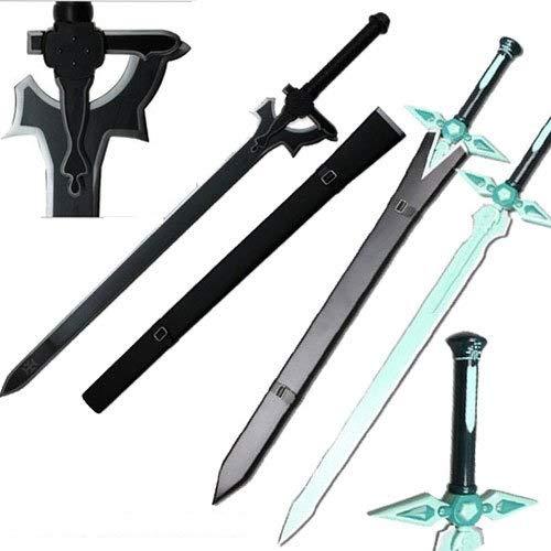Top Swords Sword Art Online Kirito Sword Set Elucidator/Dark Repulsor v2 (HK-3025 HK-026-2)