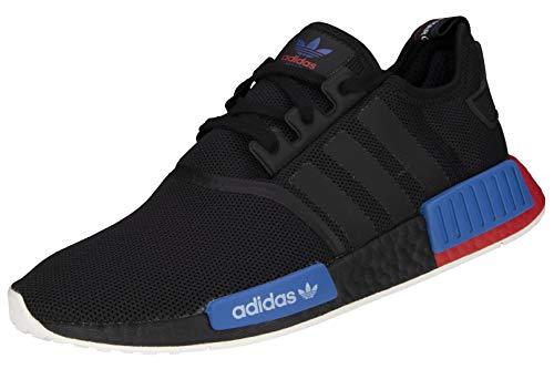 adidas NMD_R1 - Zapatillas deportivas para hombre, color negro, Hombre, FX4355, Negro , 40 2/3 EU