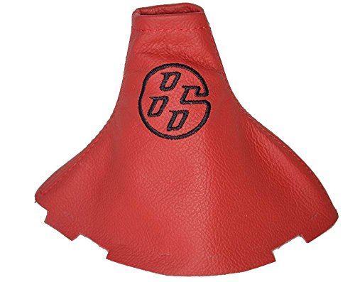 Für Toyota gt-862012–16manuelle Schaltsack Schaltsack rot Italienisches Leder schwarz 86LOGO Stickerei