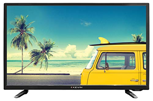 Kevin 80 cm (32 Inches) HD Ready LED TV K56U912 (Black) (2021 Model)