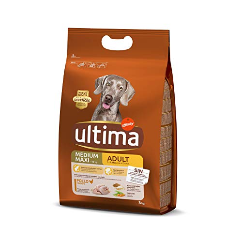 Ultima Cibo per Cani Adulti con Pollo - 3 kg - 1 Bag