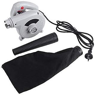 500W Soplador Portátil Operado Eléctrico de Soplador de Aire Soplador de Hojas para Limpieza Soplador de Polvo Ordenador, ...