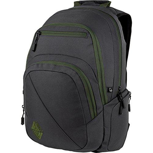Nitro Stash Rucksack, Schulrucksack, Schoolbag, Daypack, Pirate Black, 49 x 32 x 22 cm, 29 L,