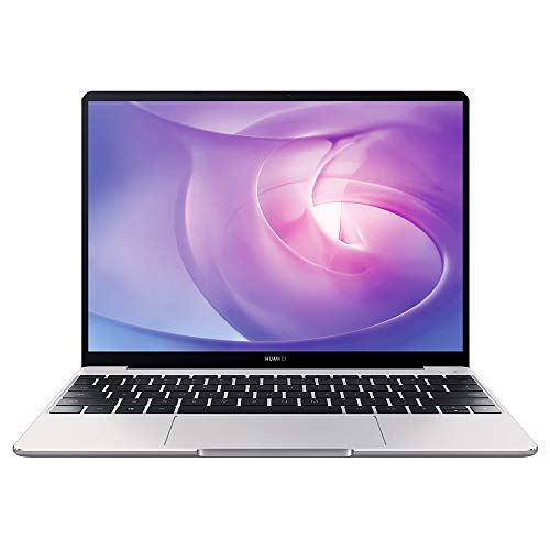 HUAWEI MateBook 13 PC Portable, 13' écran FullView 2K (Intel Core i5, 8GB RAM, 512GB SSD, NVIDIA GeForce MX250, Windows 10 Home, Clavier Français AZERTY), Capteur D'empreinte Digitale, Argent
