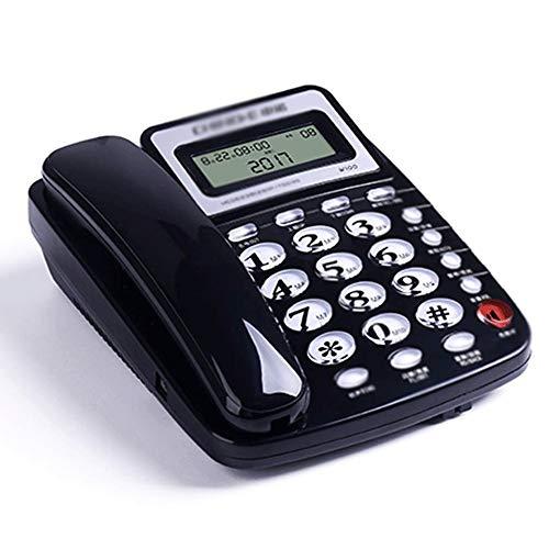 XJJZS Teléfono Fijo El Teléfono Teléfono Fijo De La Oficina En Casa (Color : A)