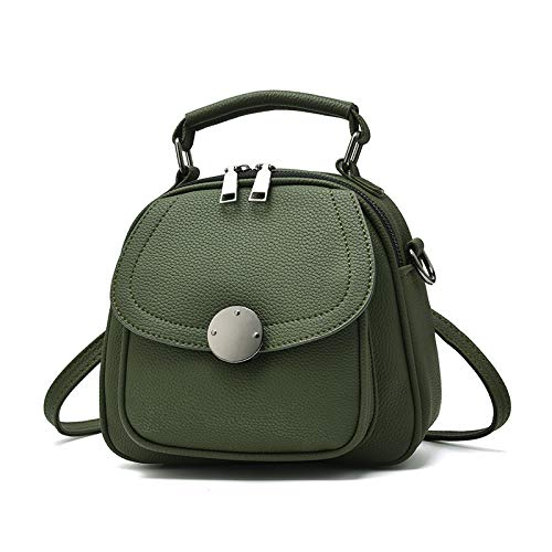 LAMEIDA Backpack Women Top-Handle bags Shoulder Crossbody Bag With Handle For students Ladies Work Shopping Travel (Green)