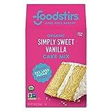 Foodstirs Organic Simply Sweet Vanilla Cake Mix 20 Ounce