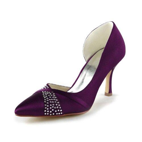 Jia Jia Wedding 315 Zapatos de Boda Zapatos de Novia Bombas Mujeres...