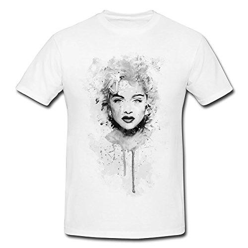 Madonna T-Shirt Herren, Men mit stylischen Motiv von Paul Sinus
