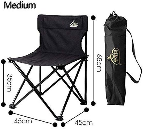 BAIF Chaise DE Camping EXTéRIEUR, portable Pliable Confortable De Voyage Pique-Nique Randonnée Pêche Jardin en Alliage D'aluminium Loisirs