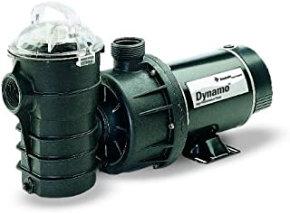Pentair 340103 Stainless Steel Black Dynamo Single Speed Pump without Cord, 3/4-Horsepower