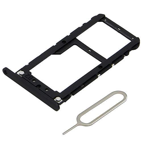 MMOBIEL Bandeja de Tarjeta SIM Ranura Compatible con Xiaomi Mi A1-5.5 Pulg. Incl. sim Pin (Negro)
