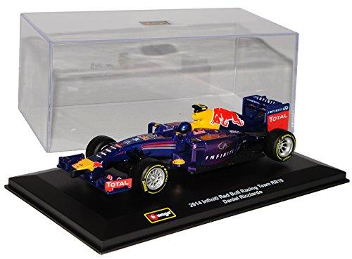 Bburago Red Bull Infiniti Racing Team RB10 Daniel Ricciardo 2014 Formel 1 1/32 Modell Auto