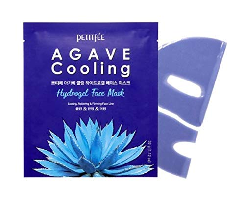 [Petitfee] Agave Cooling Hydrogel Masque facial 5ea