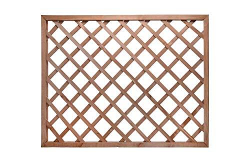 TIENDA EURASIA® Panel - Celosia de Madera. Varias Medidas. Funciones: Ocultación, Decoración, Separación. (90 x 120 cm)