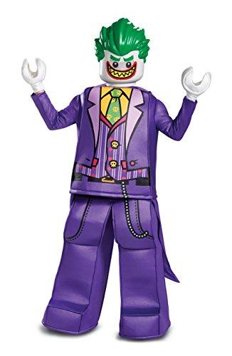 LEGO DISK66334G - Disfraz de Joker Prestige para niños, Joker, grande