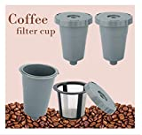 Reusable K Cups for Keurig 1.0 Brewers ,Reusable Coffee Filters Universal Fit For B30 B40 B50 B60...